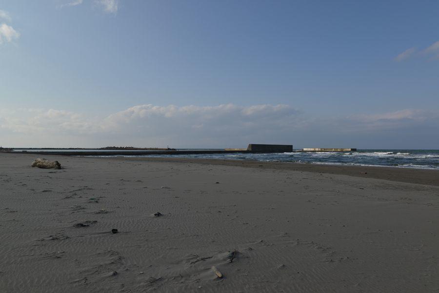 砂浜 冬の前-3