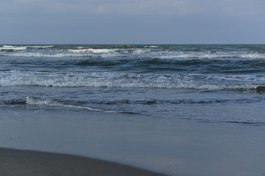 砂浜 冬の前-5