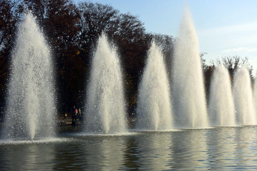 上野公園 噴水-5