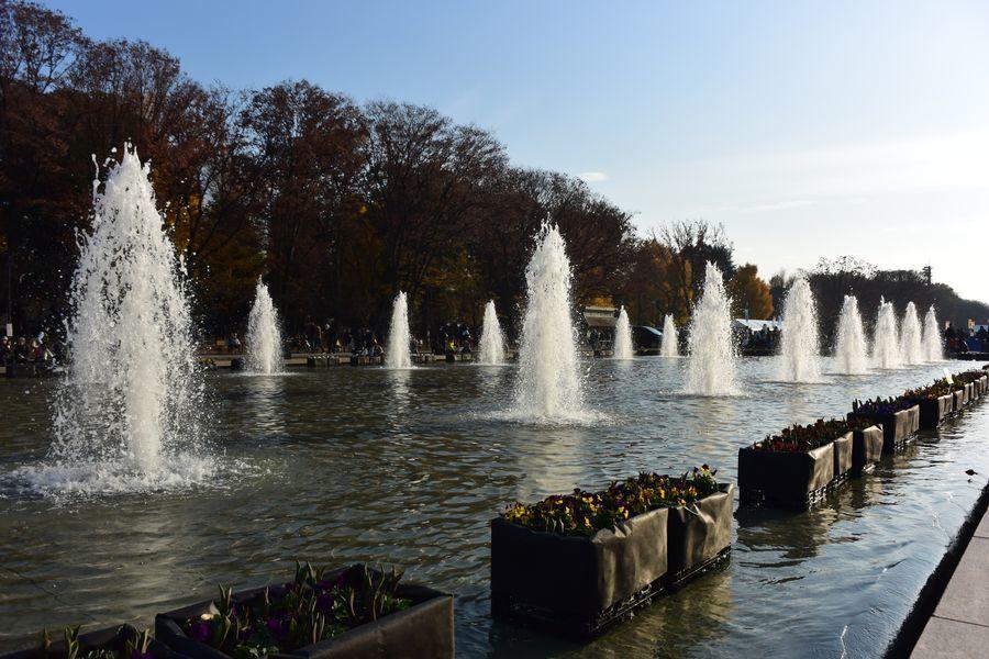 上野公園 噴水-1