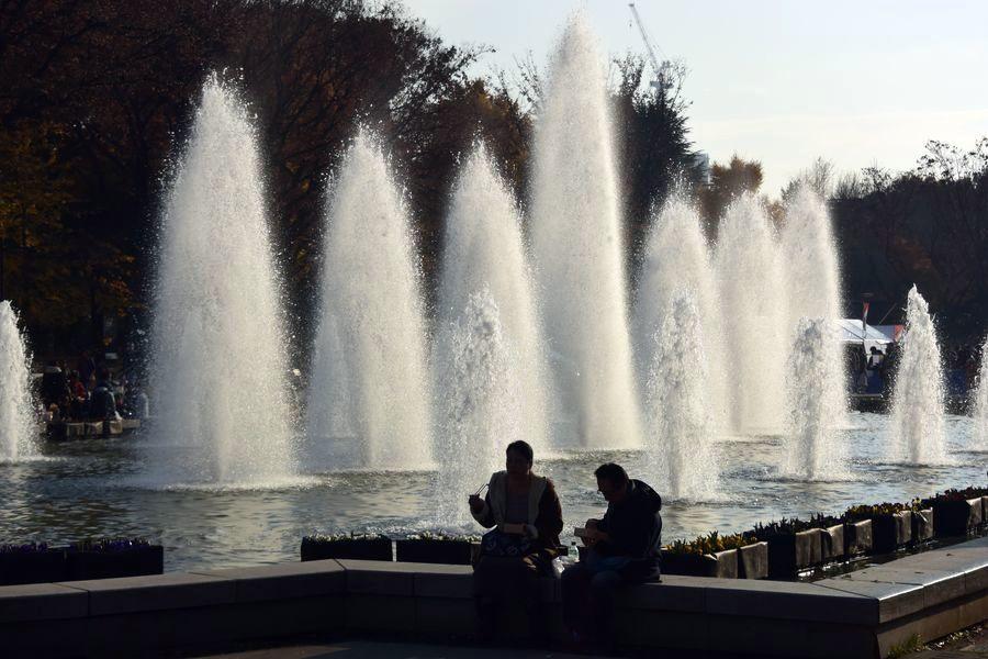 上野公園 噴水-3