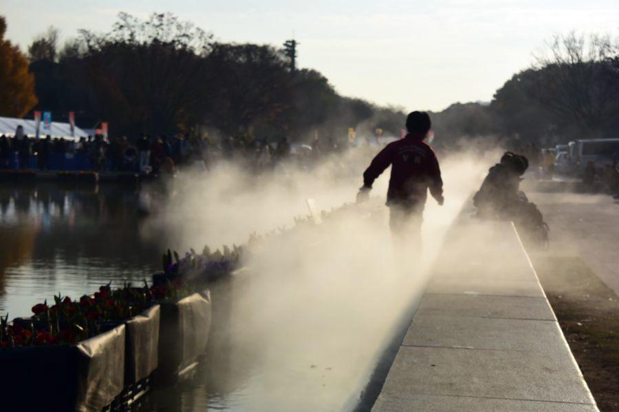 上野公園 噴水-4