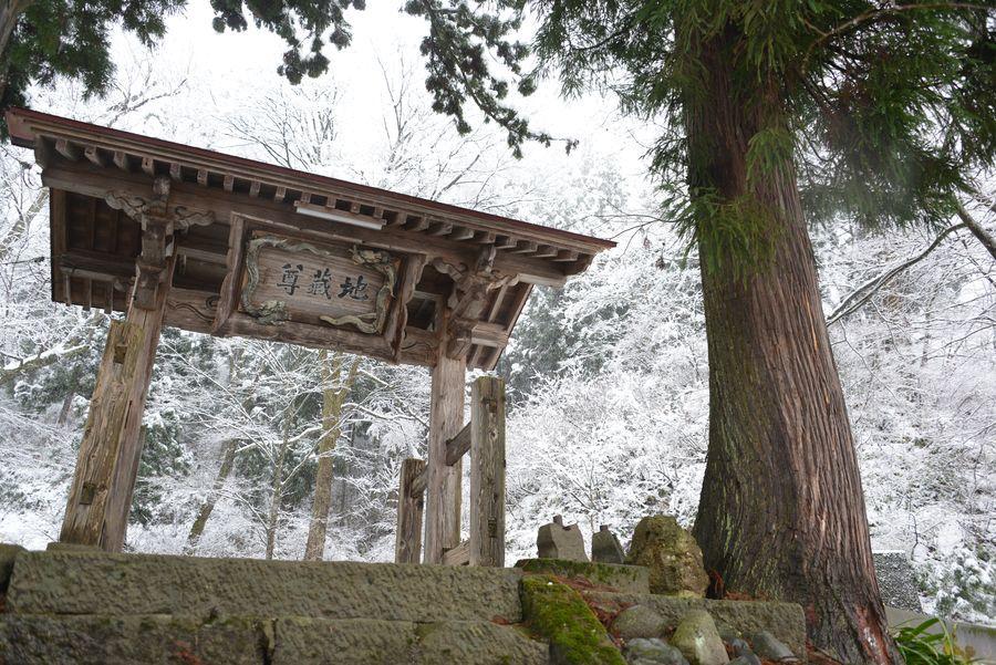 初雪 2つの神社-4