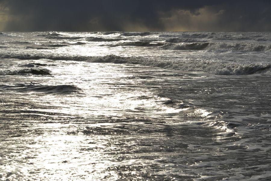 暮れの海-4