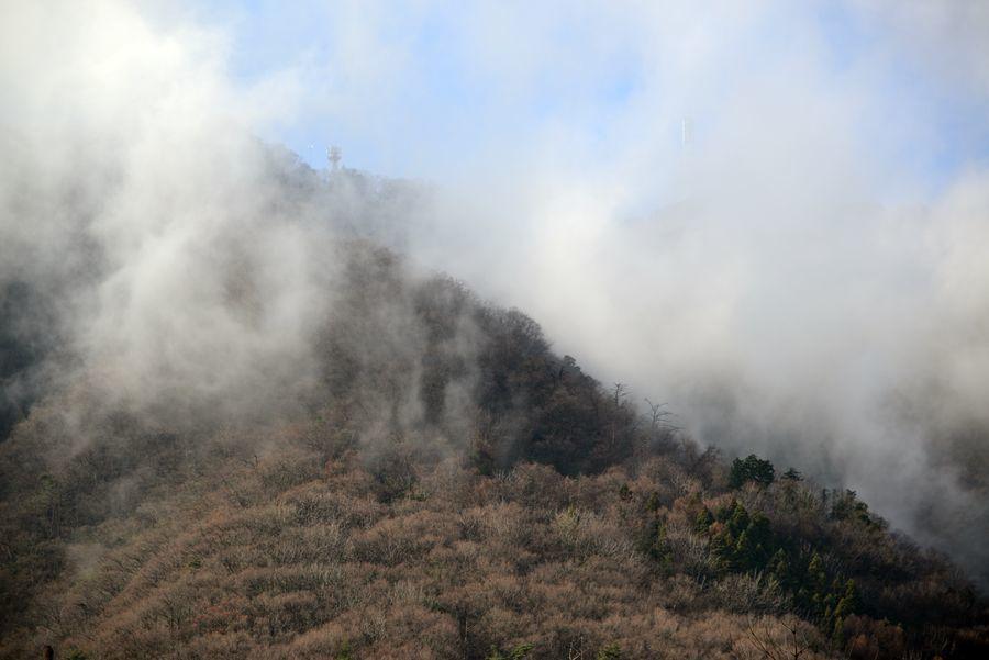 雲が湧く-6