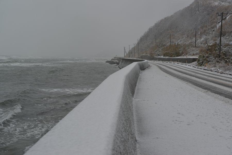 雪の日本海―1