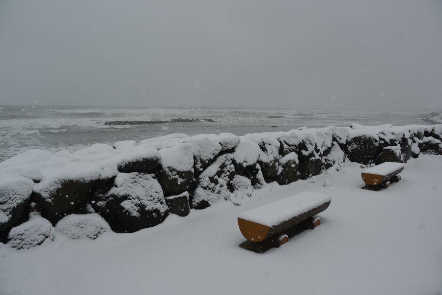 雪の日本海―2