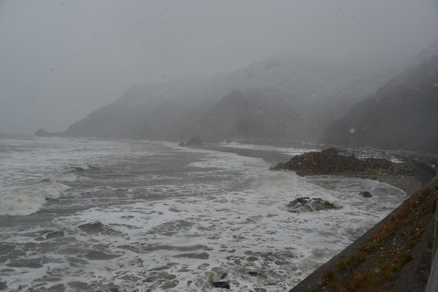 雪の日本海―3