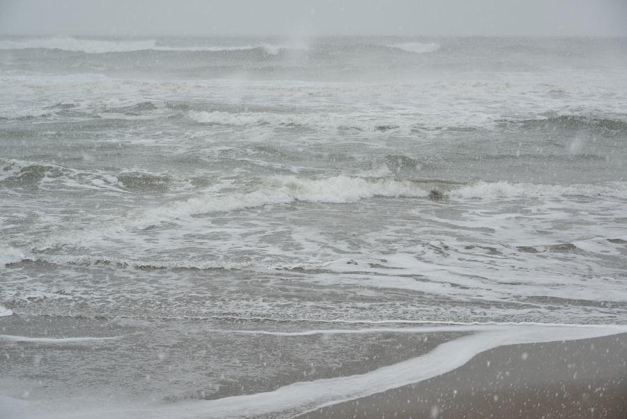 雪の日本海―4