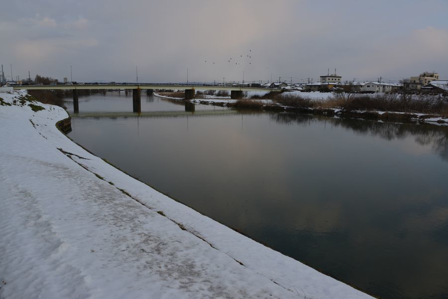 冬の河-4