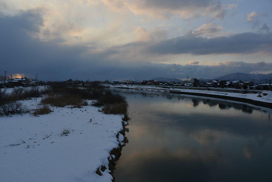 冬の河-5