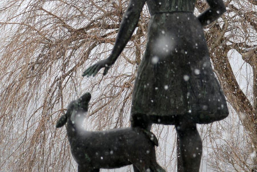 雪降る-4