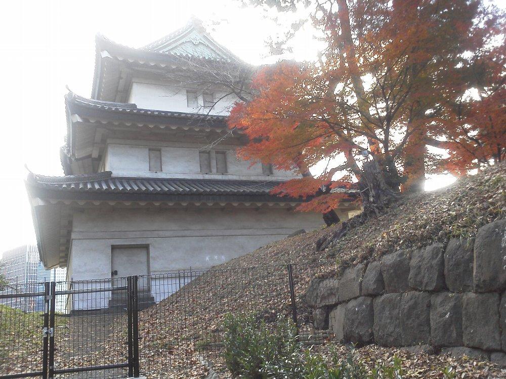 F1000140皇居東御苑12/15富士見櫓