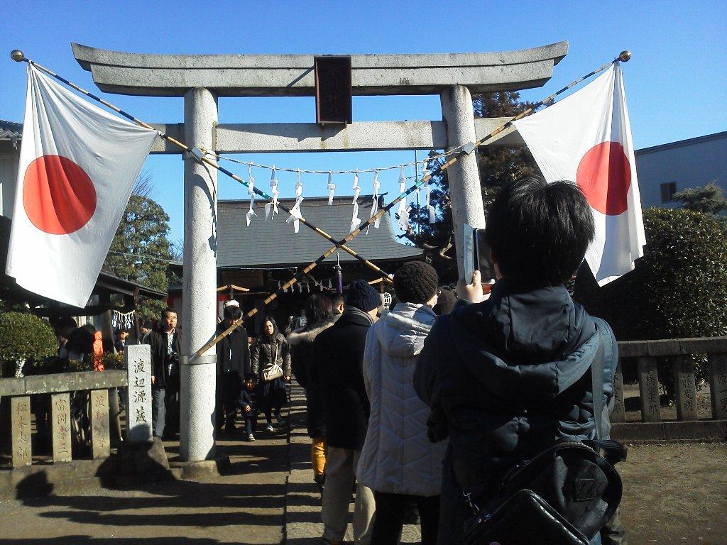F1000008平成29年初詣溝沼氷川神社
