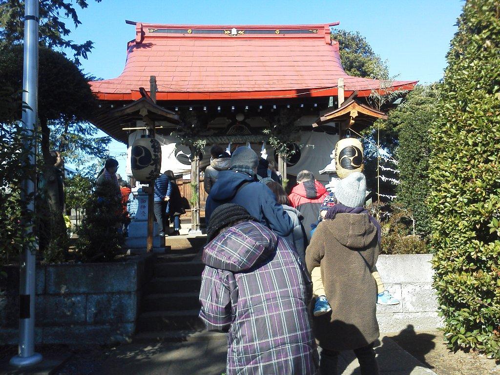 F1000011平成29年初詣浜崎氷川神社