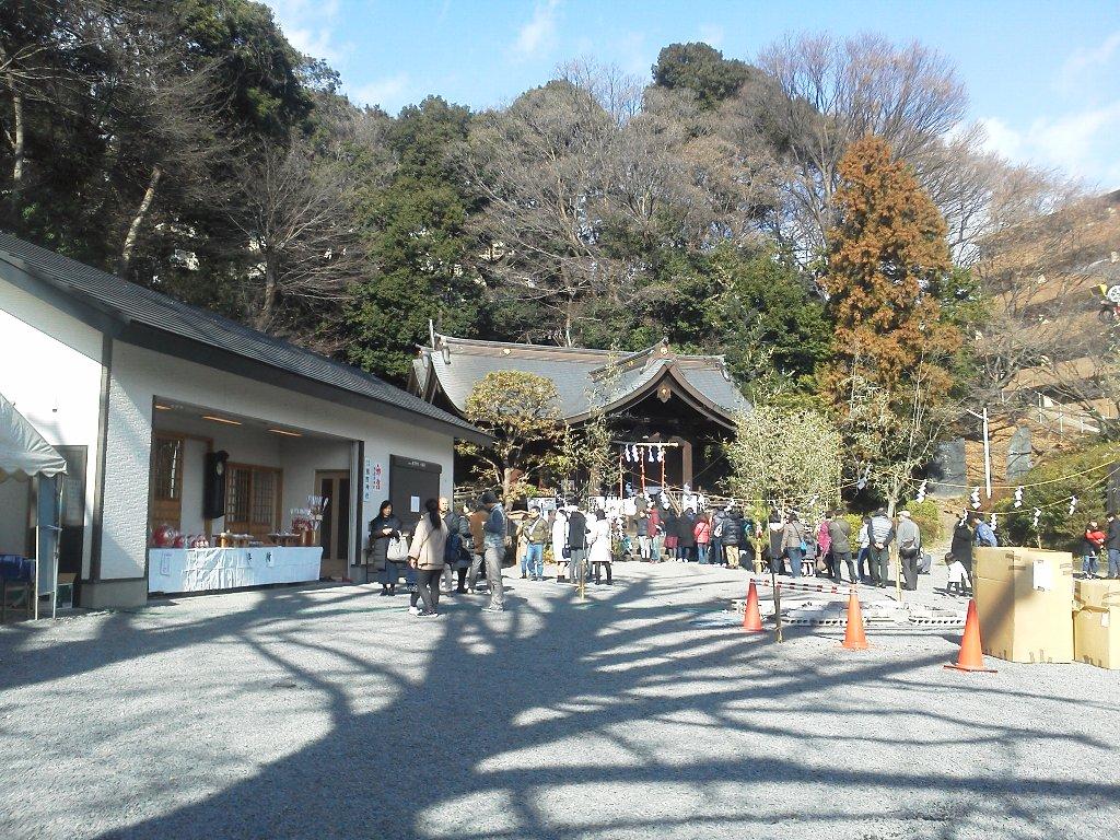 F1000033平成29年初詣白子熊野神社