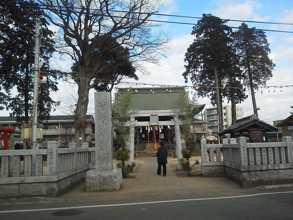 F1000025平成29年初詣成増菅原神社