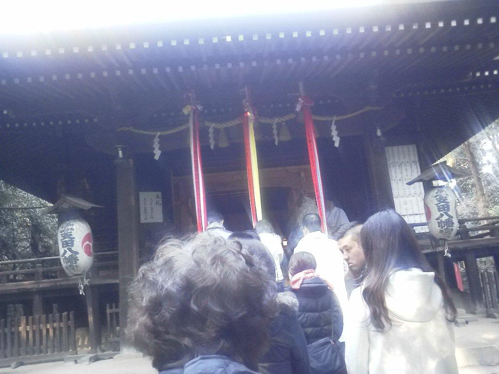 F1000036平成29年初詣土支田八幡神社