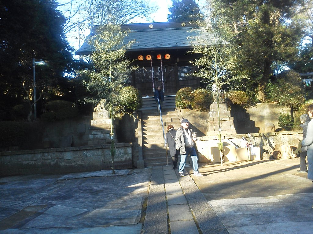 F1000038平成29年初詣中里八坂神社