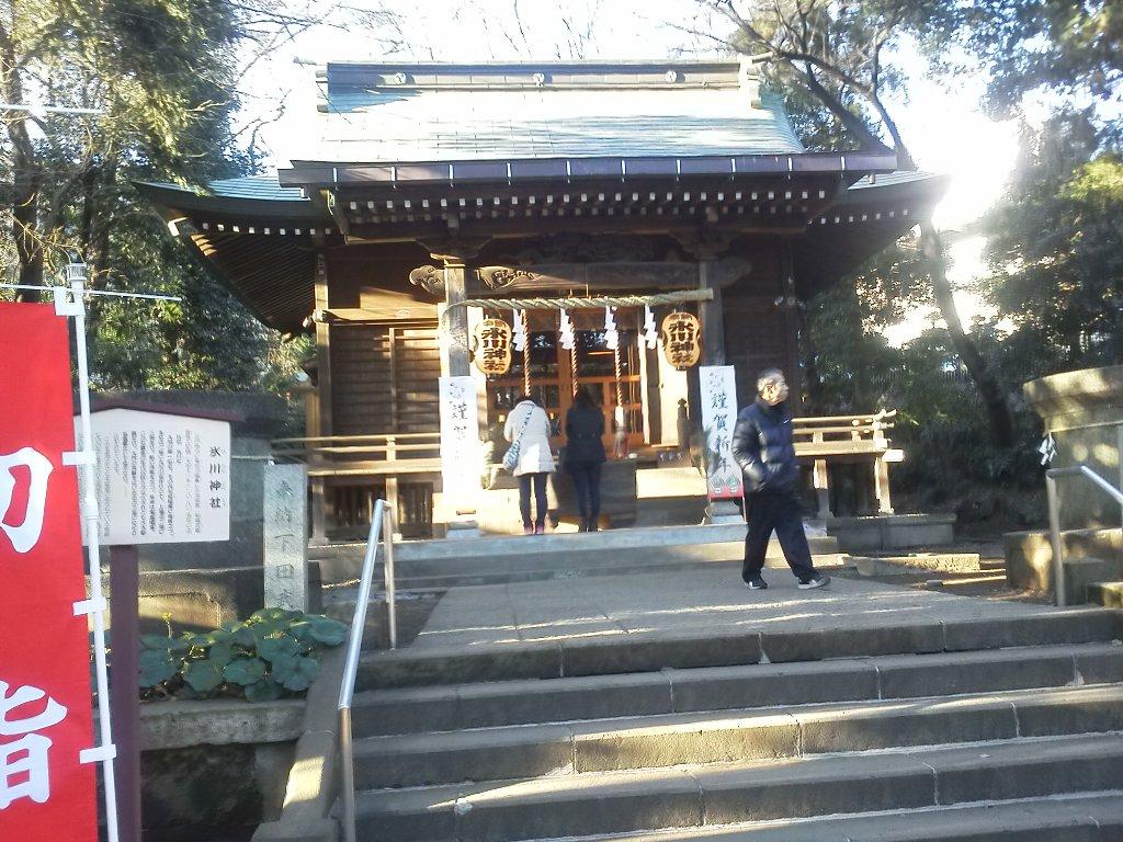 F1000048平成29年初詣馬場片山氷川神社