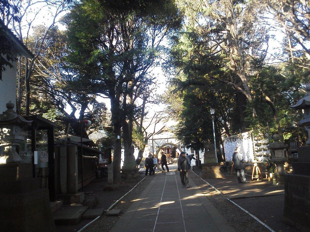 F1000049平成29年初詣常盤台天祖神社