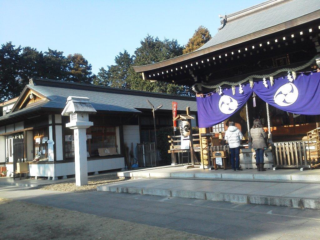 F1000055平成29年初詣下新倉氷川八幡神社