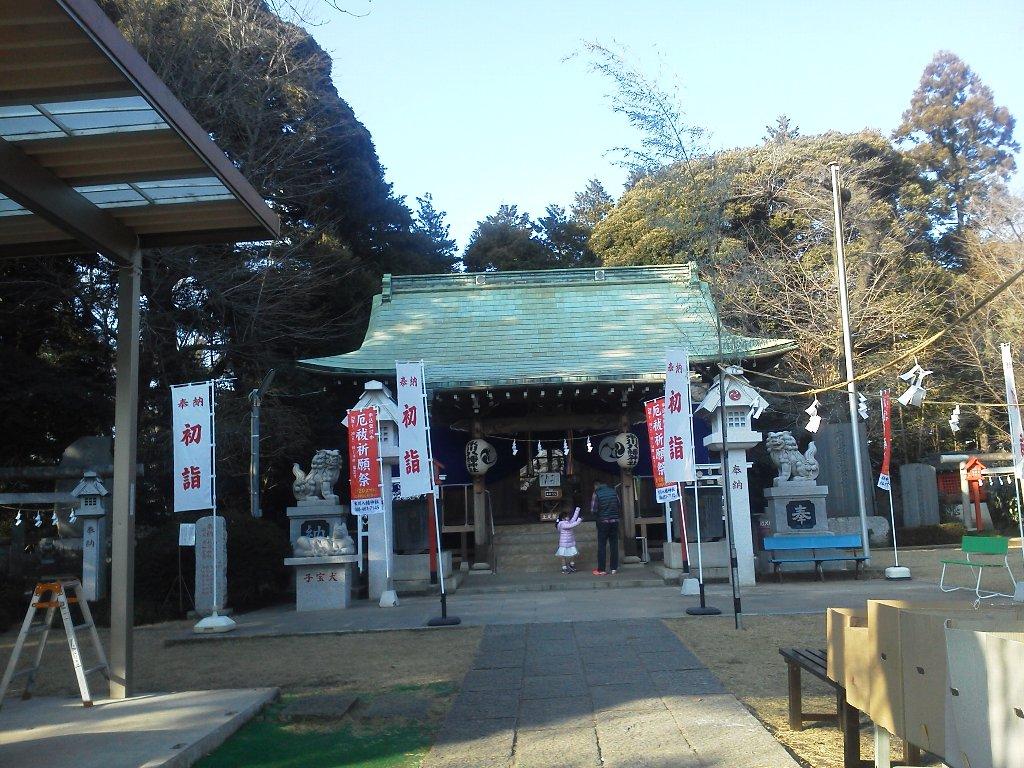 F1000057平成29年初詣新倉氷川八幡神社