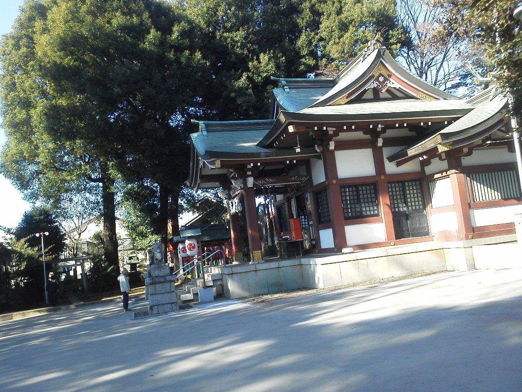 F1000060平成29年初詣大泉氷川神社