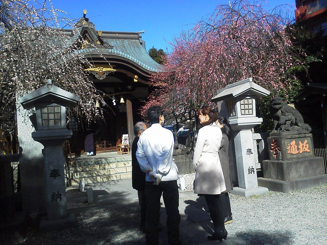 F1000153節分の小石川牛天神北野神社