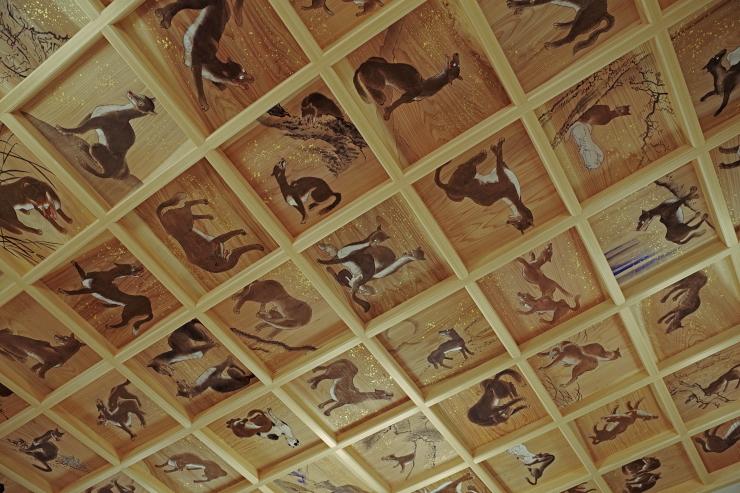 天井画の数々