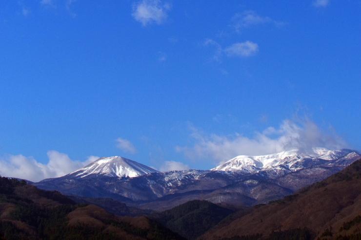 今朝の吾妻山