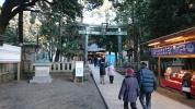 初詣 八幡神社
