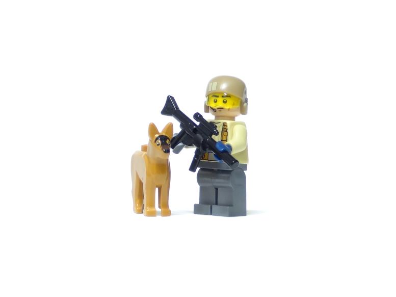 レゴ 軍用犬