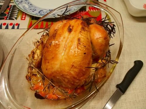 チキン丸焼き
