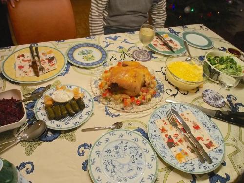 2016年クリスマスディナー