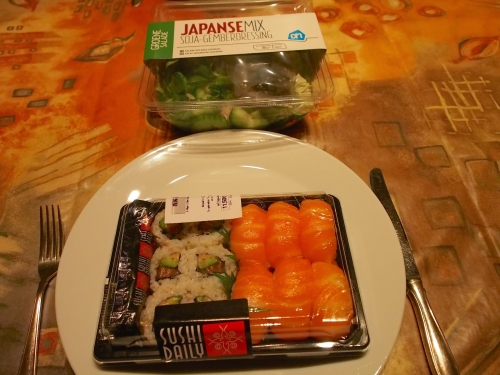 夕飯寿司!!