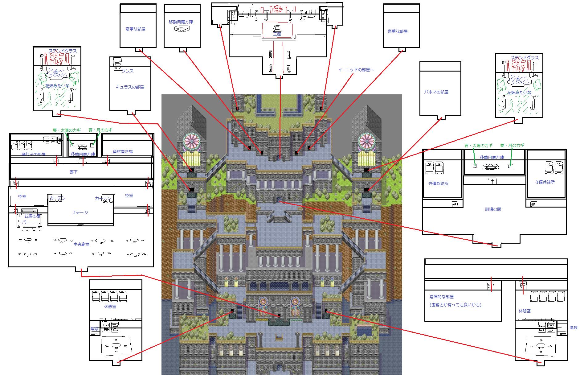 イメージ図・カナン宮殿内装1