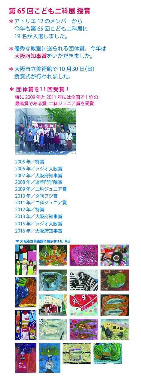 2016二科展授賞式と作品