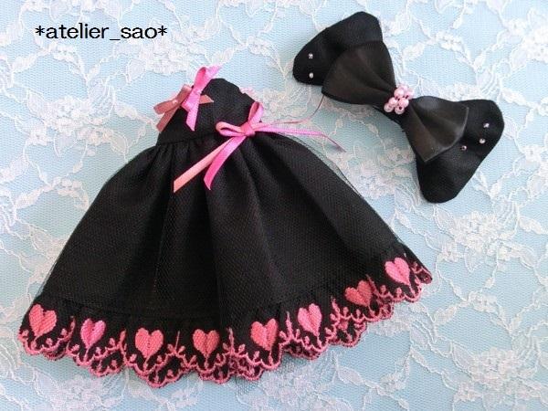 ネオブライス◆ハートレースの黒ドレス3