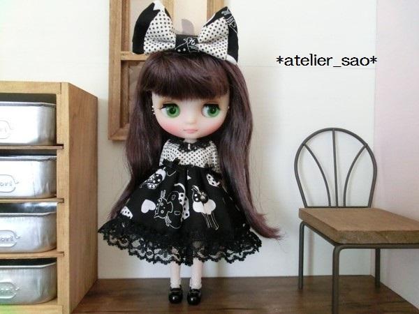ミディブライス◆黒猫モノトーン2