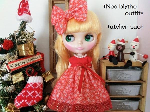 ネオブライス◆クリスマスの赤ドレス1