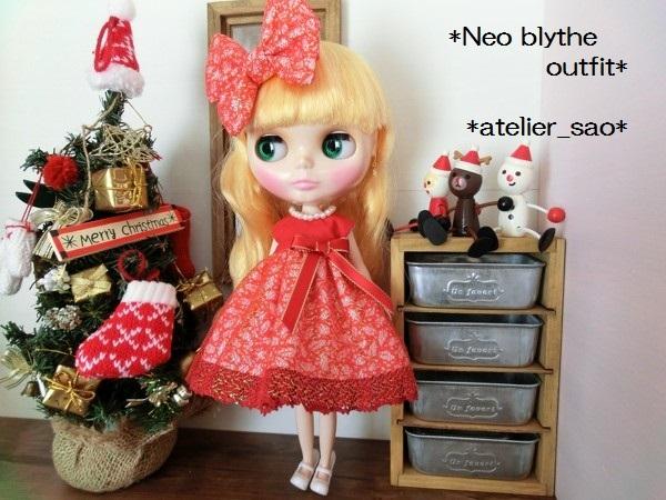 ネオブライス◆クリスマスの赤ドレス2