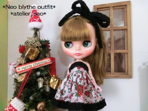 ネオブライス◆クリスマスの花◇白ドレス1