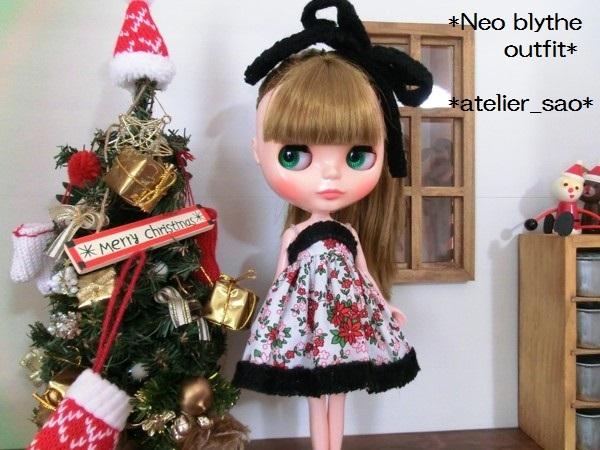 ネオブライス◆クリスマスの花◇白ドレス2