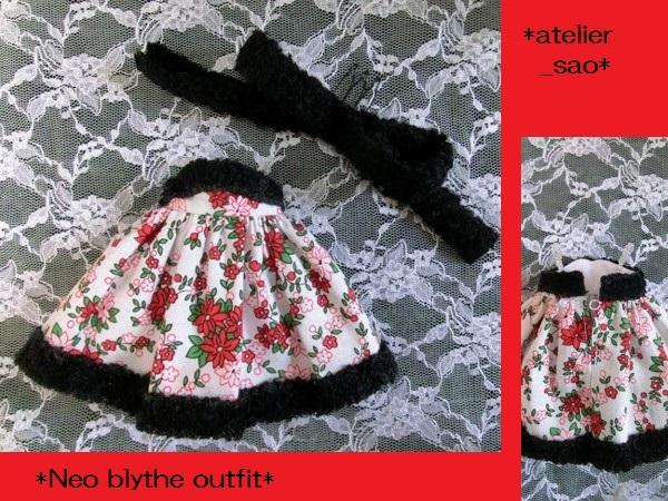 ネオブライス◆クリスマスの花◇白ドレス3