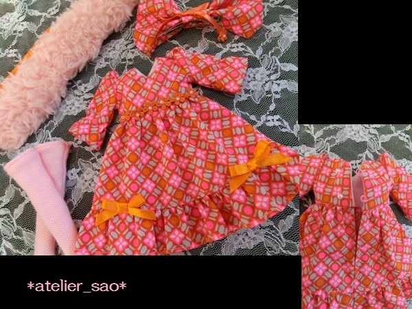 ネオブライス◆ピンク×オレンジ ドレス3