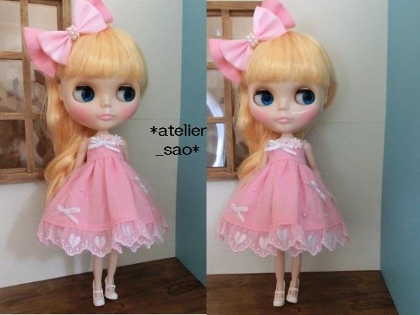 ネオブライス◆ハートレースのピンクドレス2
