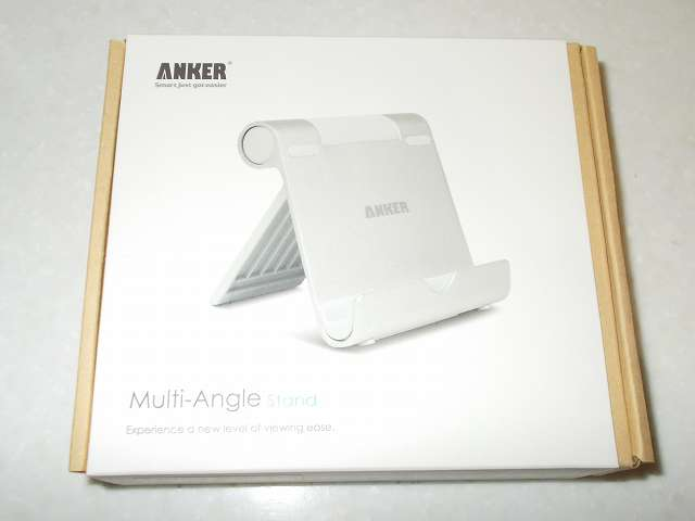 Anker Multi-Angle Stand タブレット用スタンド 77ANSTAND-SA Silver 購入