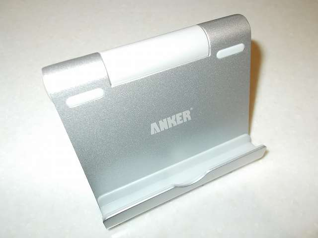 Anker Multi-Angle Stand タブレット用スタンド 77ANSTAND-SA Silver 開封