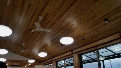 ①風ひかり作業所-天井